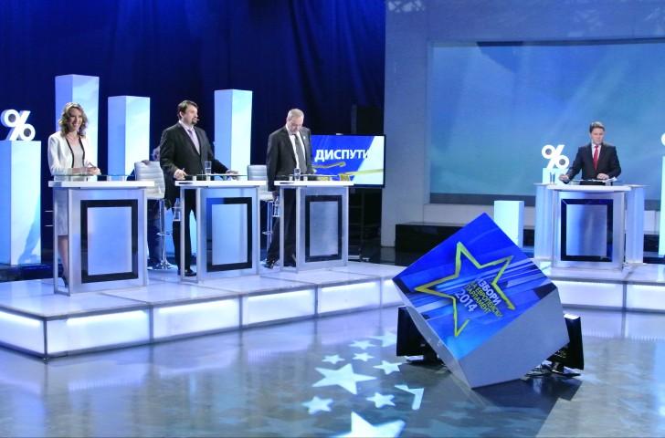 Участие на Виктор Папазов в Третия дебат за избори за ЕП по БНТ 1